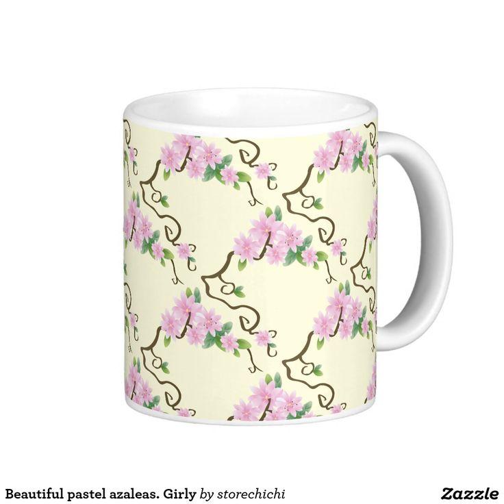 Beautiful pastel azaleas. Girly