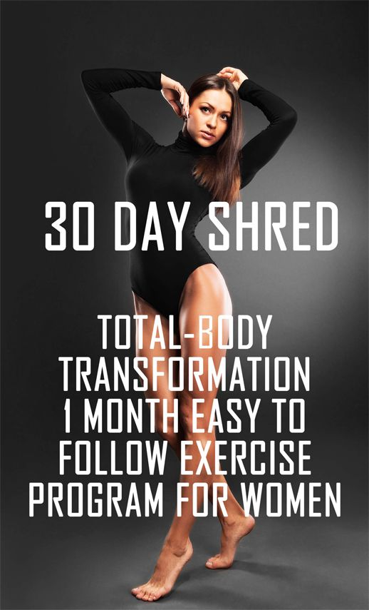 Jillian Michaels 30 Day Shred Level 1 – Videos – The Running Bug