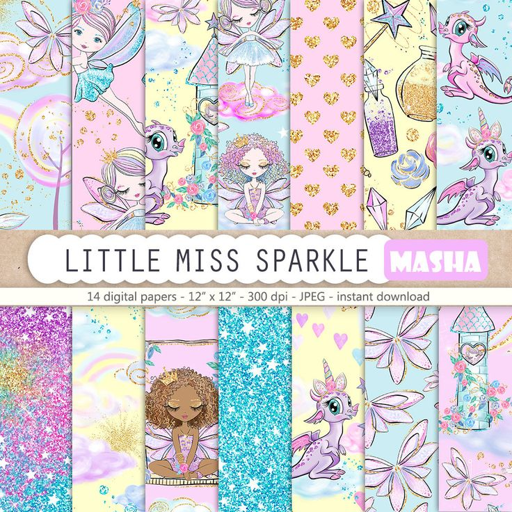 Excited to share the latest addition to my shop: Fairy Digital Paper, Fairy Pattern, Little Miss Sparkle, Fairy Illustration, Cute Dragon Digital Paper, Star Pattern, Glitter Digital Paper #fairydigitalpapers #fairypattern #fairydigitalpaper #pink #babyshower #purple #digital #print #etsy #art https://etsy.me/2qFjTkb