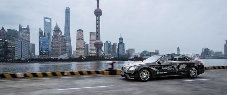 Mercedes Tests Autonomous Car in China