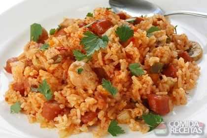 Receita de Risoto simples de frango em receitas de arroz, veja essa e outras receitas aqui!, http://www.comidaereceitas.com.br/arroz/risoto-simples-de-frango.html