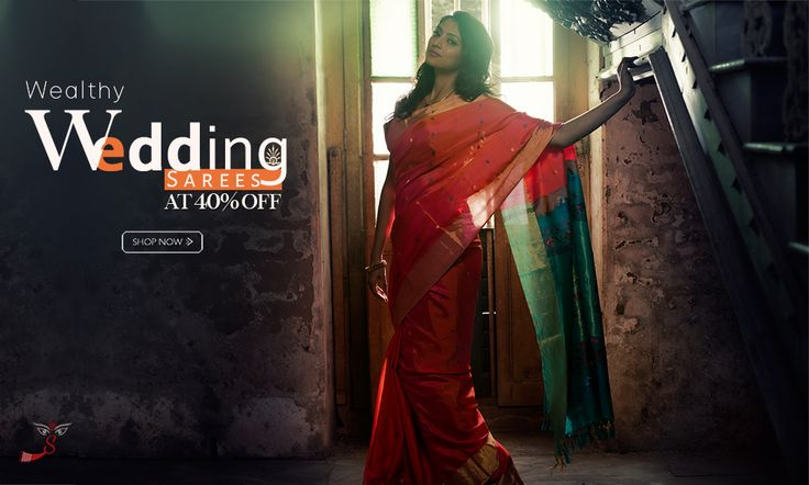 Wedding Speical:  Wedding silk sarees have arrived at 40% discount!
