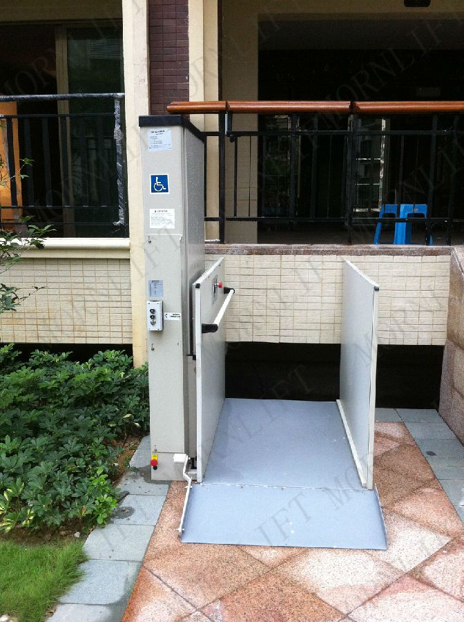 Lift For Disabled Person : Best images about vertical wheelchair lift on pinterest
