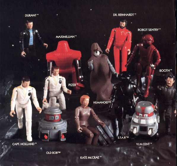 "I had most of these. They were a very cool action figure toy line! The movie these are based on is called ""Black Hole."""