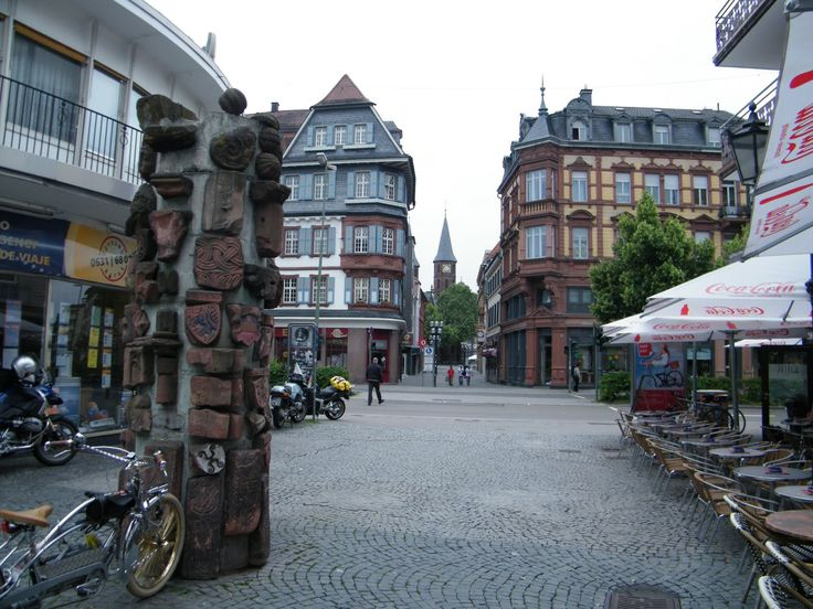 Kaiserslautern, Germany Looks like where we used to go when we went into town.