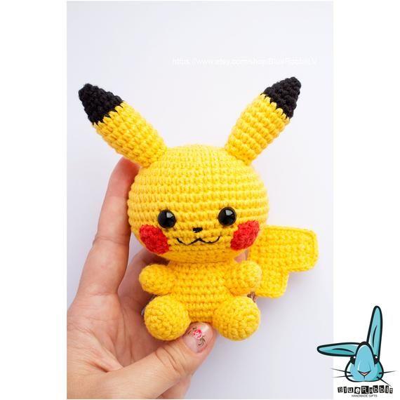 Amigurumi Pattern: Pokémon Pikachu - Tarturumies | 570x570