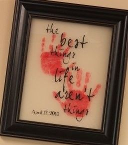 want to do thisHands Prints, Grandparents Gift, Mothers Day, Grandma Gift, Gift Ideas, Cute Ideas, Hand Prints, Fathers Day, Christmas Gift