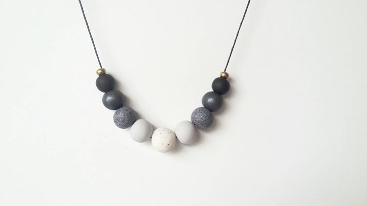 A personal favourite from my Etsy shop https://www.etsy.com/au/listing/257133660/handmade-polymer-clay-bead-necklace