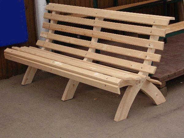 allpix.com / садовые скамейки из дерева фото