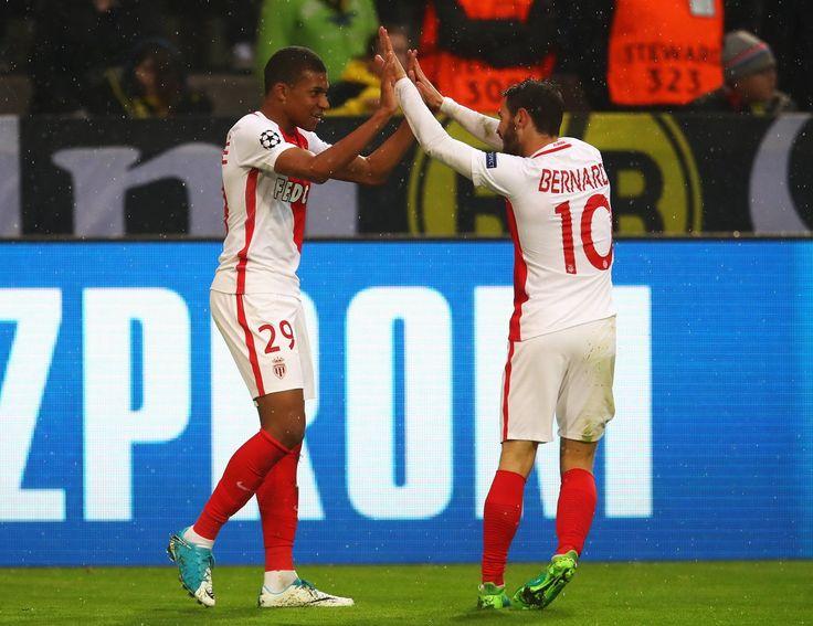 @Monaco Kylian Mbappé et Bernardo Silva #UCL #Champions #PartoutToujours #DagheMunegu #BVBASM #DortmundMonaco #ASMonaco #Monaco #Tigre #Falcao #KylianMbappe #Mbappe #9ine