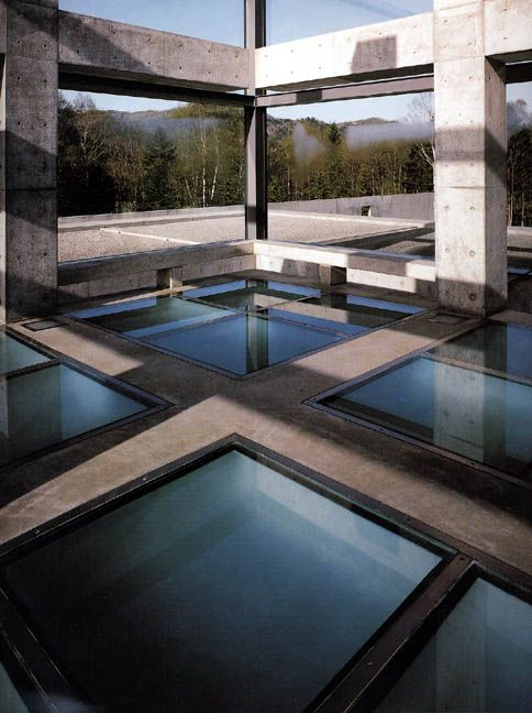 Church on the Water. Hokkaido near Tomamu, Japan. 1985-88, Tadao Ando