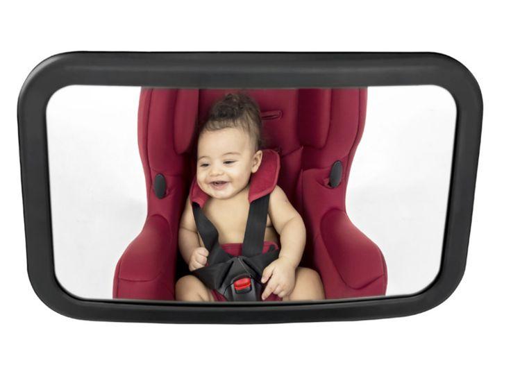 Visão panorâmica do seu bebê sem precisar se virar     Contato visual mãe e filho     Fácil de instalar     Ideal para ser afixado no banco traseiro do carro     Permite um ajuste de 360º no encosto do banco traseiro  Conteúdo: 1 espelho retrovisor para carro  Composição: Plástico ABS, Polipropileno e Acrilico.  Medidas:      Altura: 2,5cm     Largura: 19cm     Comprimento: 30cm