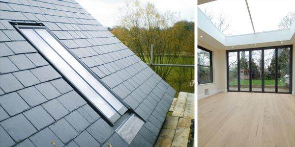Clement conservation rooflight from Clement Windows; Bespoke multipane skylight with Mansafe glass from Sunsquare