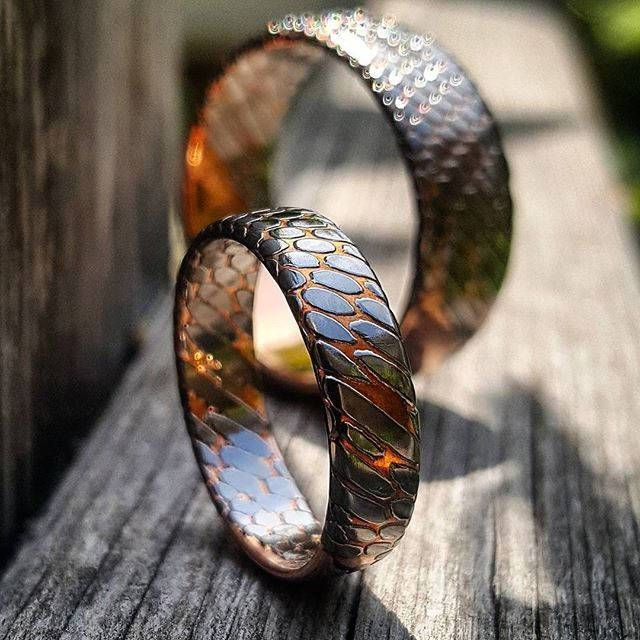 totally cool wedding rings