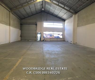 San Jose Costa Rica warehouses for rent, C.R. MLS La Uruca warehouses for rent, commercial properties for rent La Uruca San Jose