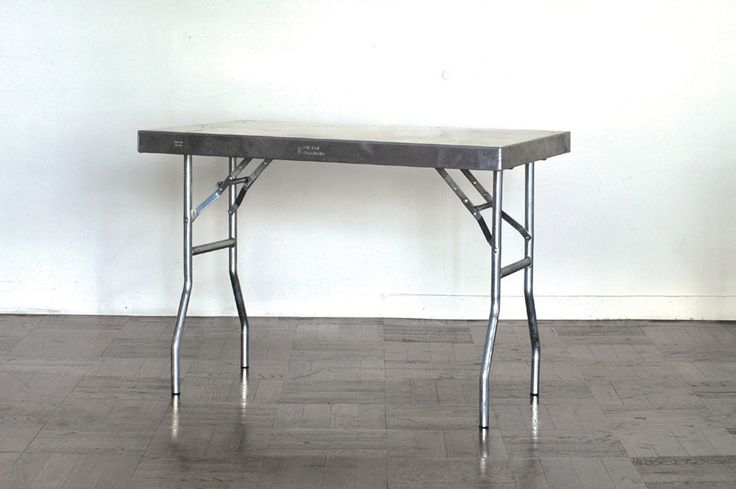 ALUMINIUM WORK TABLE W1067 D635 H787mm(収納時 W1067 H635mm) ¥48,000 P.F.S. PARTS CENTER