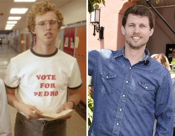 "Jon Heder (Naploeon Dynamite) made his big screen debut in the film and even permed his hair. He later starred in ""The Benchwarmers,"" ""School for Scoundrels,"" and ""Blades of Glory"" and reprised the role of Napoleon for the animated series."