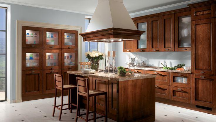 Amélie kuchyně s ostrůvkem / rustic kitchen with island
