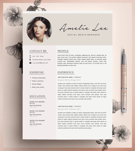 30 best resumes for creative fields images on pinterest
