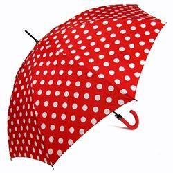 Minnie's Red & White Polka Dot Umbrella
