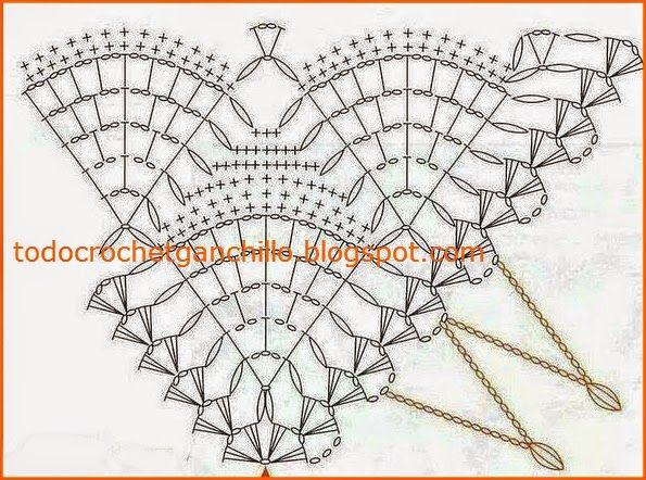Todo crochet: Chal blanco de ensueño - crochet con patrón