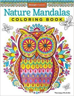 Nature Mandalas Coloring Book Design Originals Thaneeya McArdle 9781574219579 Amazon