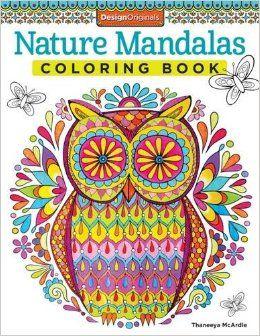 Nature Mandalas Coloring Book Design Originals Thaneeya McArdle 9781574219579 Amazon