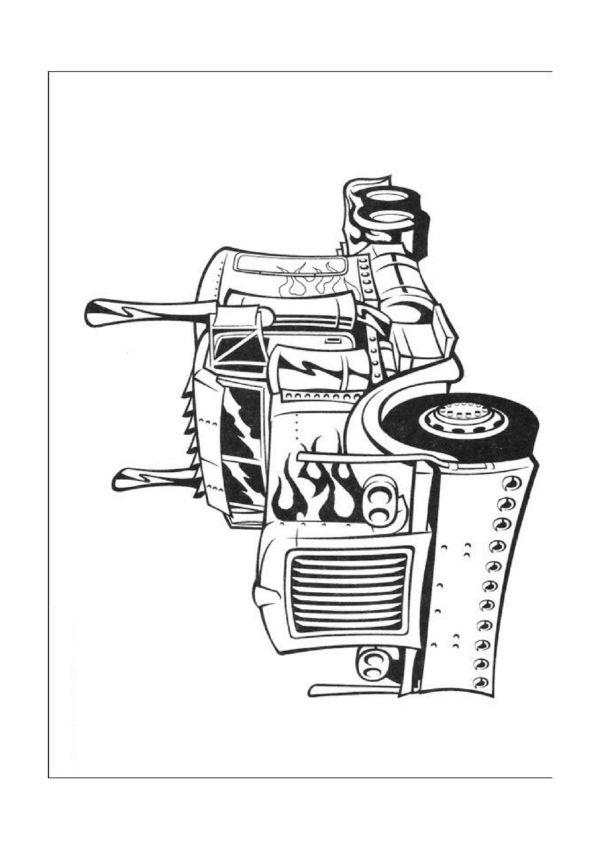 Desenhos para colorir Transformers 18