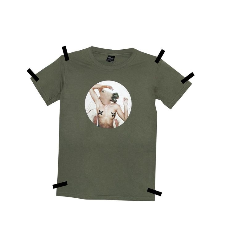THE HORSE TEE KHAKI via Meat Factory Clothing. Click on the image to see more!