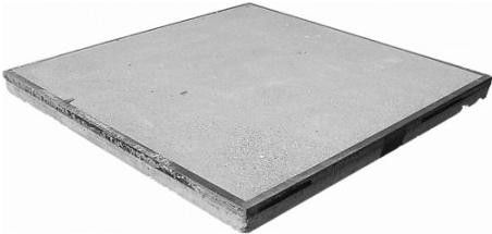 Stelconplaten / Betonplaat met hoekrand 200x100x12 B55 10 Ton asdruk