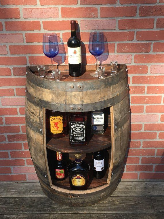 WHISKY Oak Barrel /_ bevande TABLE-Bar-Decor /_ fatto a mano da Scotch Whisky Barrel