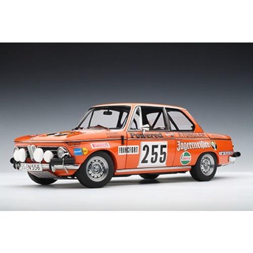 Autoart BMW 2002 Rally Monte Carlo 1973 Jägermeister Stiller / Wagener #255 | Model Cars | Page And Cooper