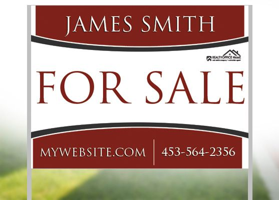 20 best Real Estate Yard Signs images on Pinterest Office signs - house for sale sign template