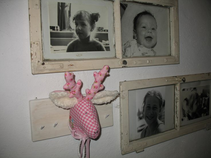 Hirschkopf, Garderobe rosa