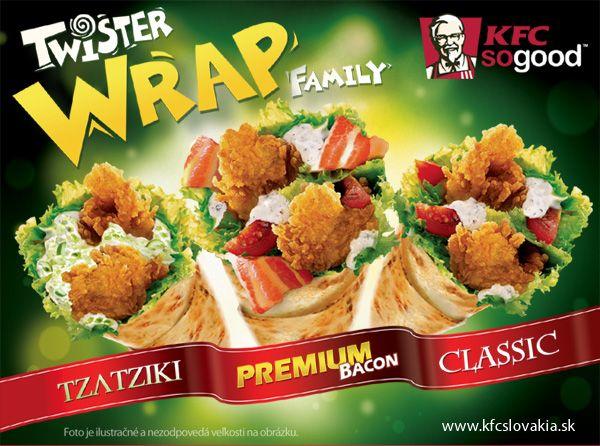Twister Wrap family. Na leto to pravé!