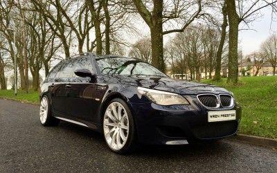 2007/07 BMW E61 M5 5.0 V10 SMG Touring – 86,000 Miles – £19,495