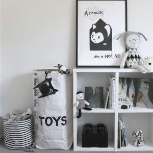 Decor: Solução moderna para organizar brinquedos!