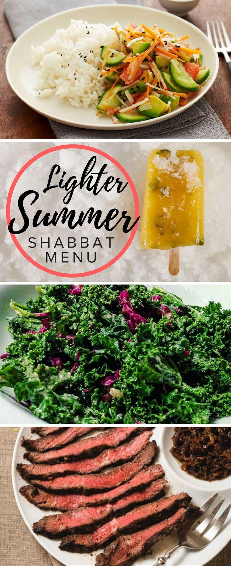 Lighten up for Shabbat this summer
