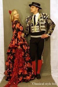 Национальный испанский женский костюм