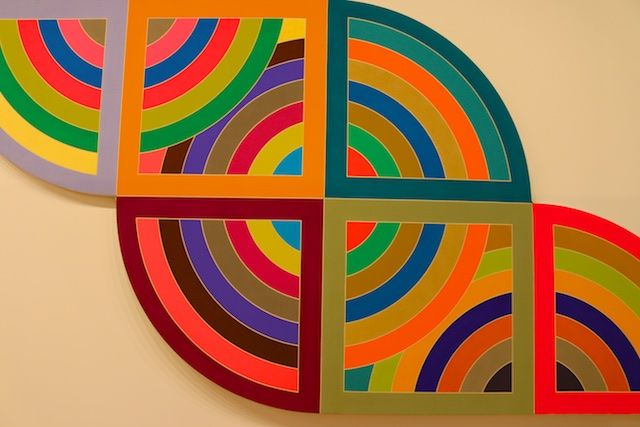Frank Stella at the New Whitney Museum