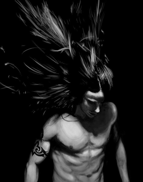Anthony Kiedis paint by ~Fallimar