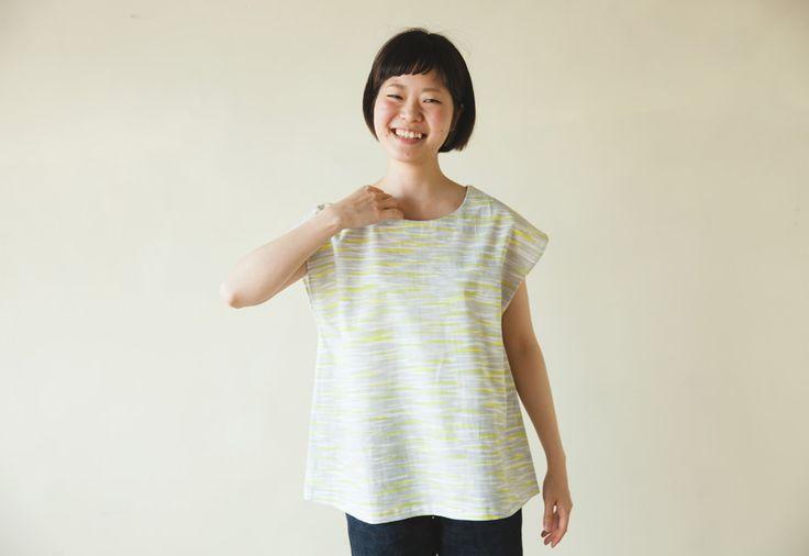 まえうしろチュニックの製図・型紙と作り方 | nunocoto fabric