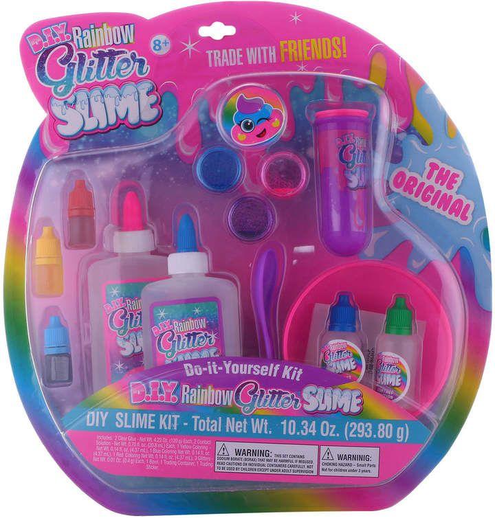 Diy Rainbow Glitter Slime Glitter Slime Slime Kit Slime