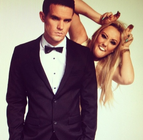 gaz and charolette; geordie shore