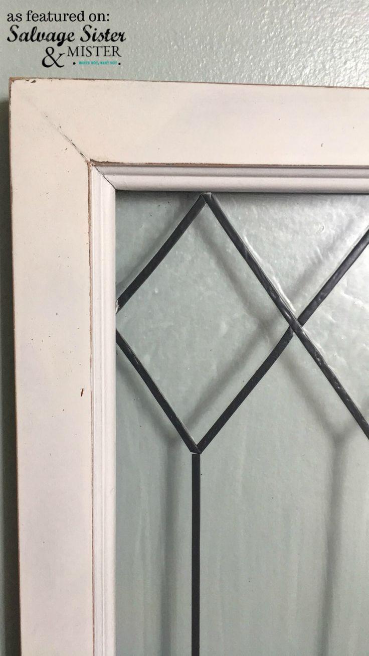 Create faux leaded glass windows glass windows diy diy