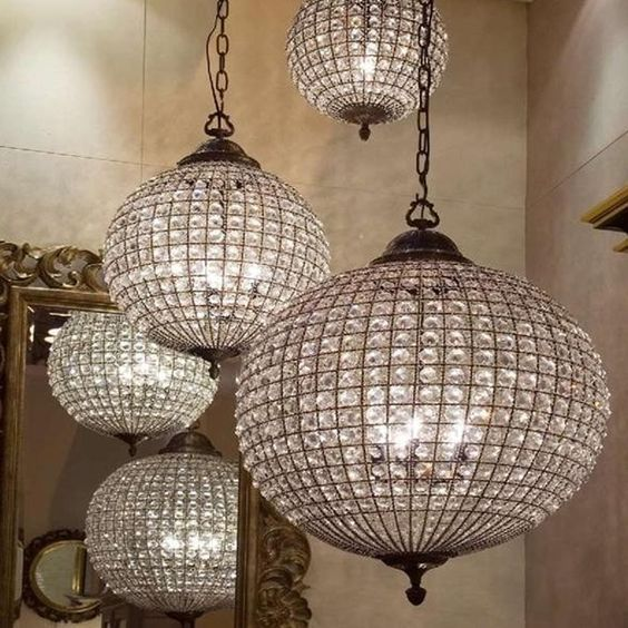 m s de 25 ideas incre bles sobre lustre boule en pinterest suspension boule ara a de globo y. Black Bedroom Furniture Sets. Home Design Ideas