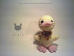 Ravelry: Parrulo Duck шаблон по Pebie крючком