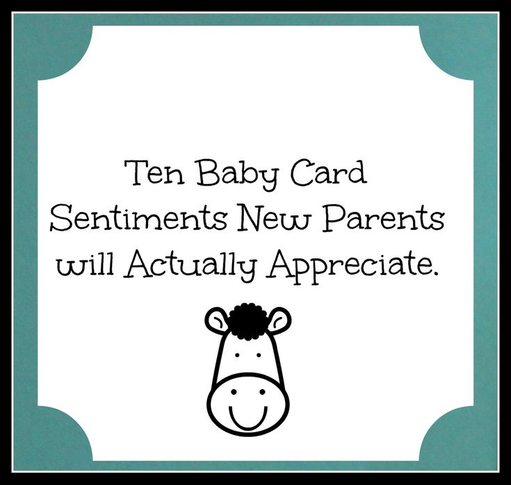 Baby Card Sentiments  Someone Having A Baby? Try These Sentiments In The  Card · Baby Shower Card SayingsBaby ...