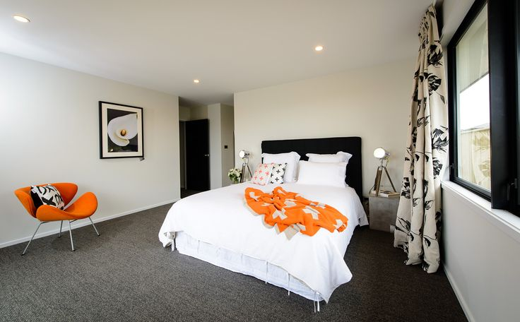 Spacious master bedroom of this G.J. Gardner showhome