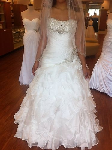 Details about alfred angelo princess jasmine disney for Princess jasmine wedding dress